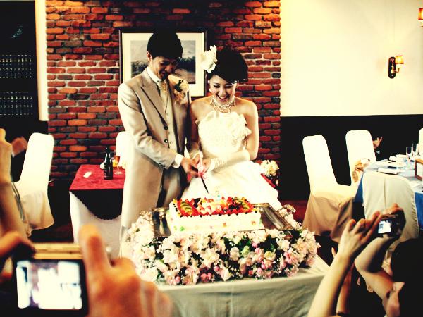カナと愛ちゃん結婚式