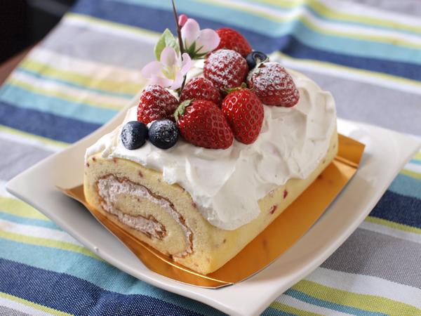 ろまん亭のケーキ