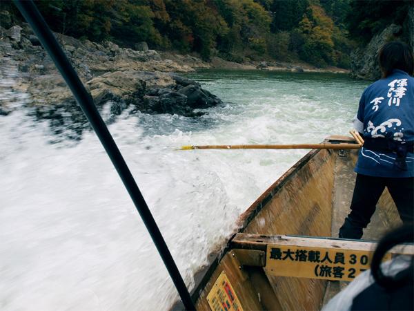 保津川の川下り
